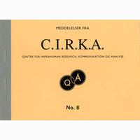 """Meddelelser fra C.I.R.K.A. No. 8, """"Qwerty"""". Anders Visti, Lasse Krog Møller"""