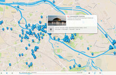WUOS map client screenshot