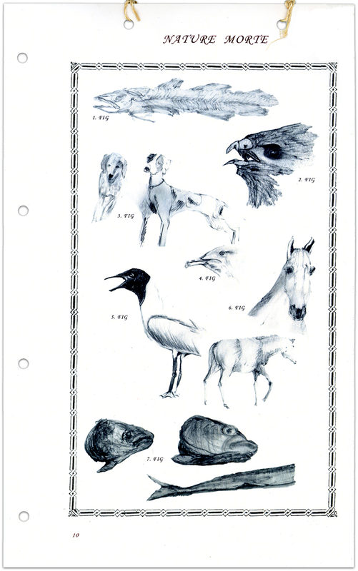 "* [asterisk] nr. 10-11, ""Nature Morte"". Lone Manicus"