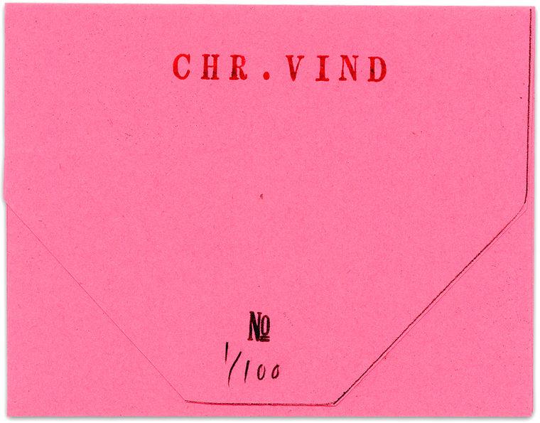 """* [asterisk] nr. 27, """"Sidste brev til Tom C."""". Christian Vind"""