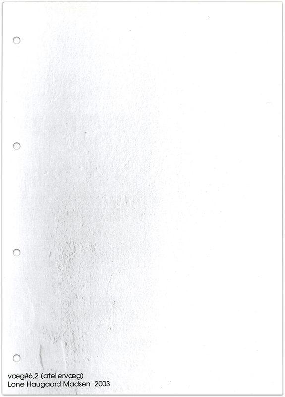 """* [asterisk] nr. 8-9, """"væg #6,2"""" - """"væg #6,3"""". Lone Haugaard Madsen"""