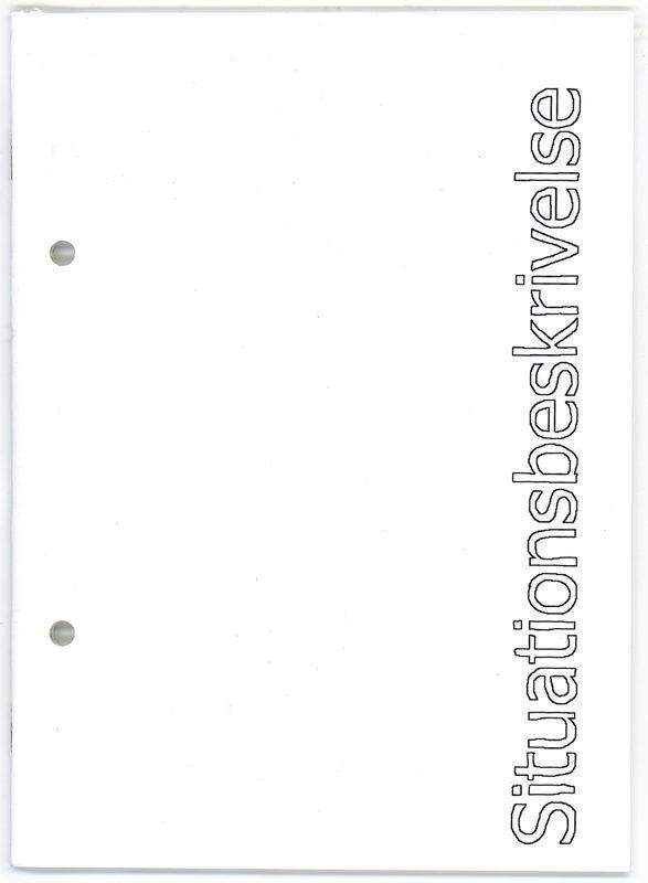 "* [asterisk] nr. 46, ""Situationsbeskrivelse"". Kasper Hesselbjerg"